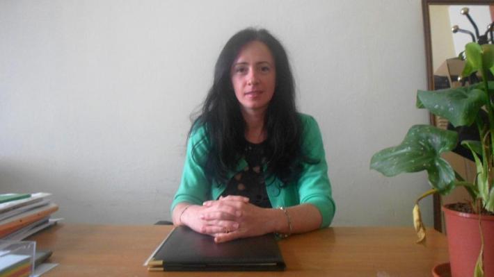 Doamna Ionela Belbe, psiholog al Liceului Onisifor Ghibu