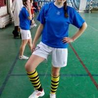 ADELINA CRIŞAN:  Fotbal pentru fete la Ghibu