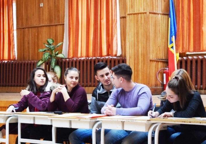 Consiliul Elevilor în şedinţă