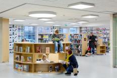 Şcoala Saunalahti, Finlanda, sursă imagine: www.archdaily.com