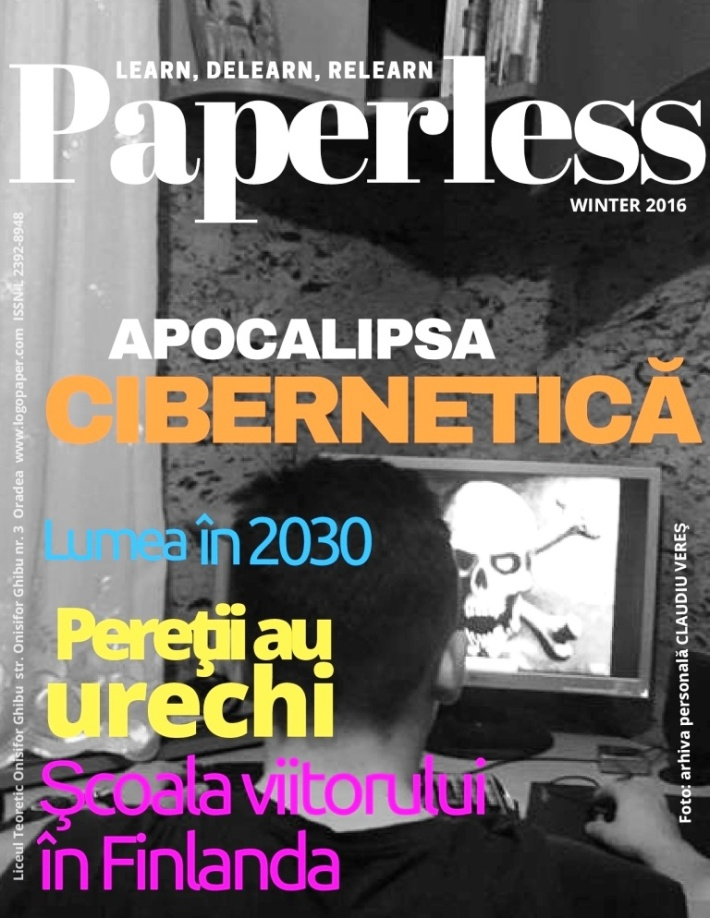 cover Paperless nr. 4 winter 2016