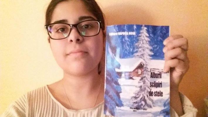 Georgia şi cartea în care apar poeziile sale