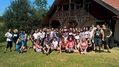 Nelipsita poză de grup (Sursă foto: Grup Tabăra Limitless)
