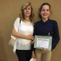 GIANINA BAN & OANA TAICHIȘ: Inspirată de chipul angelic al profesoarei