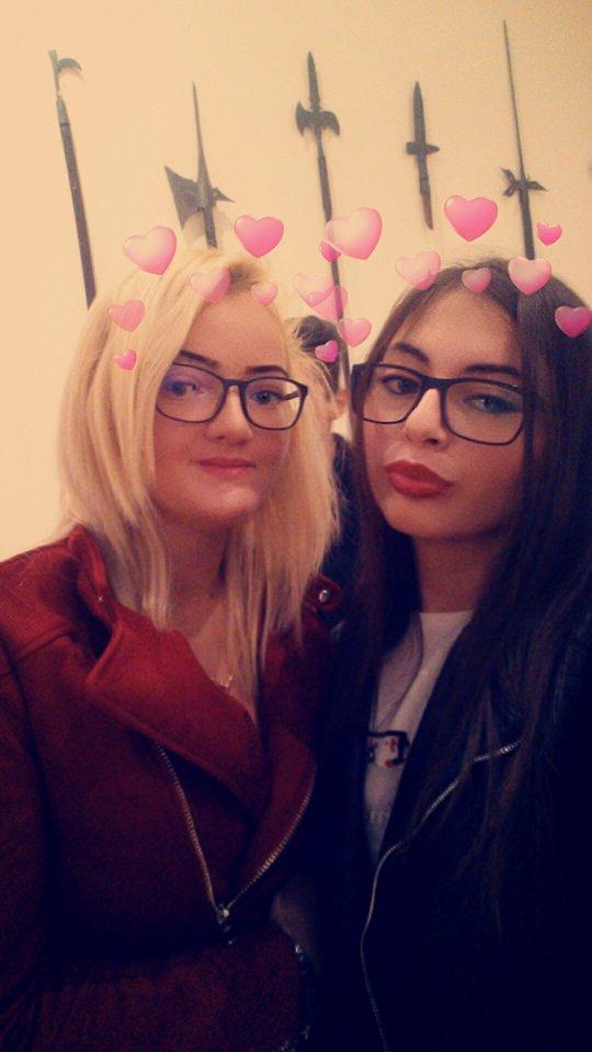 Adina Vesa si Antonia Mag