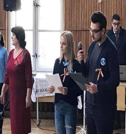 Adriana Roman și Cătălin Pap, prezentatorii evenimentului. Foto: Daniel Benea