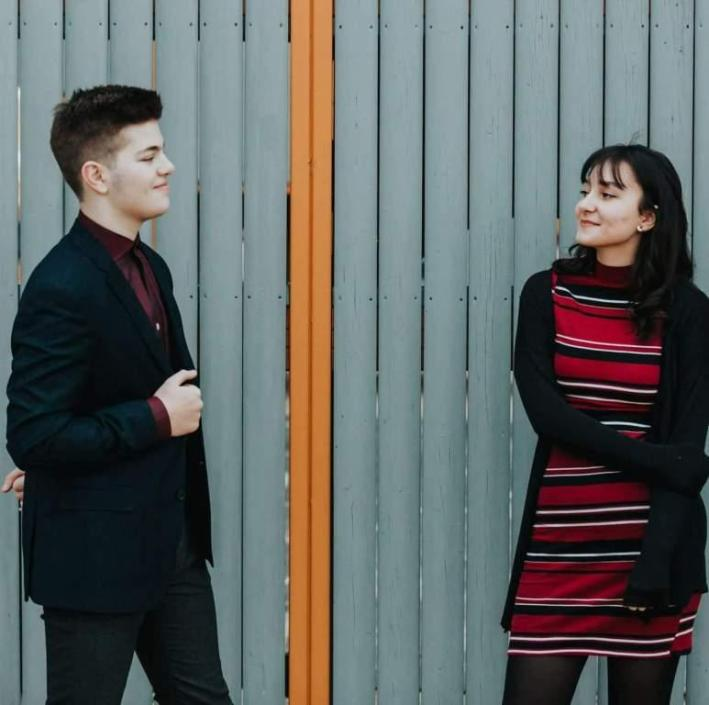 Tony Crișan şi Patricia Lațco