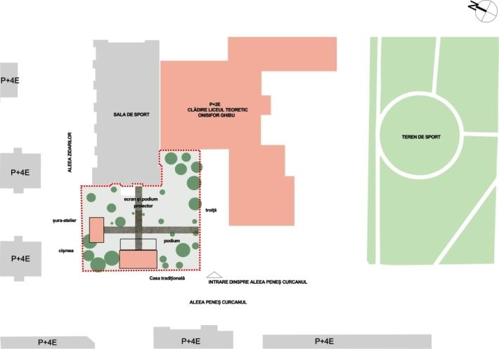 plan situatie propus - concept web