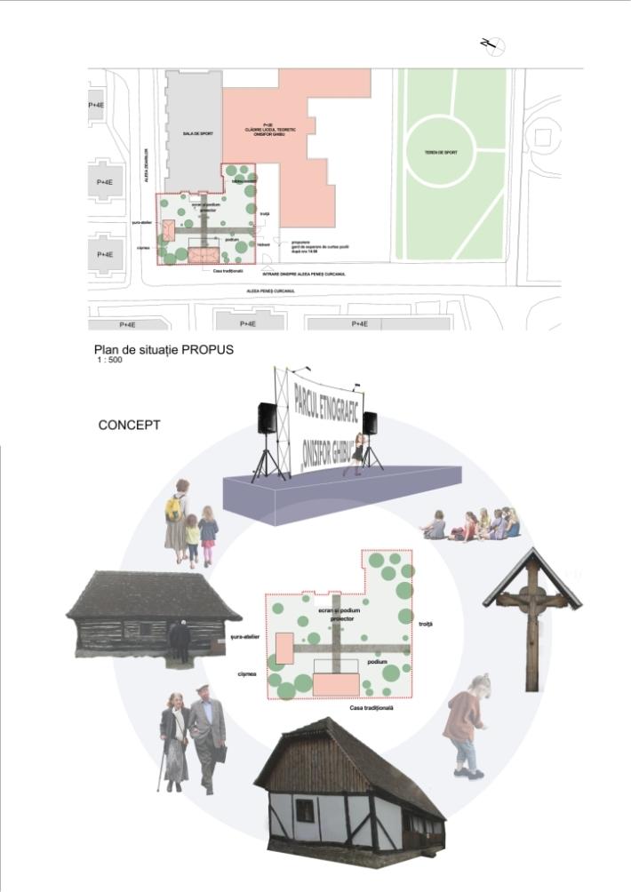 concept si plan de situatie propus web