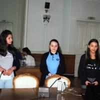 Liceul Ghibu la întâlnirea de la Primărie
