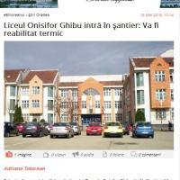 BIHOREANUL: Ghibu în şantier!