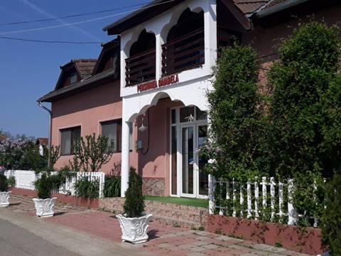 Pensiunea Daiadela din Dușești, situată la de 20 km de lac