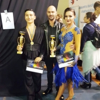 DALIA MOŞUŢ: Campioană naţională la dansuri latino