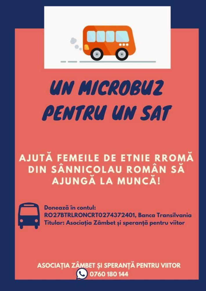 microbuz pentru un sat