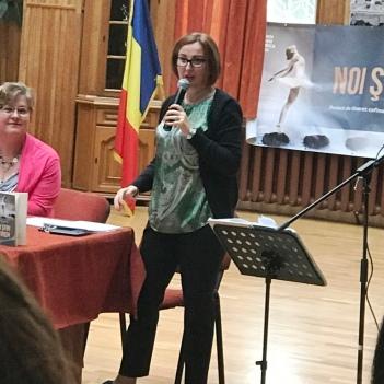 Prof. Anca Carpăn. Foto: ARIANA COSMA