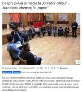 """Despre presă şi media la """"Onisifor Ghibu"""" Jurnaliştii chemaţi la """"raport"""""""