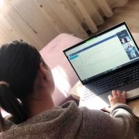 DARIANA & SORINA: Facultatea se face pe Zoom